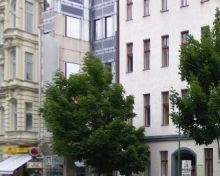This is the outside view of SCHNEIDER GROUP in Berlin.