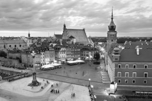 Image of Warsaw in Poland.