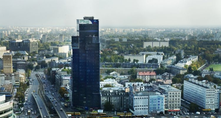 This is our office in Warsaw, viewed from outside