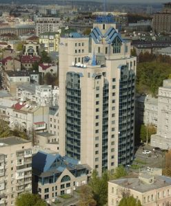 This is an image of the office of SCHNEIDER GROUP in Kyiv
