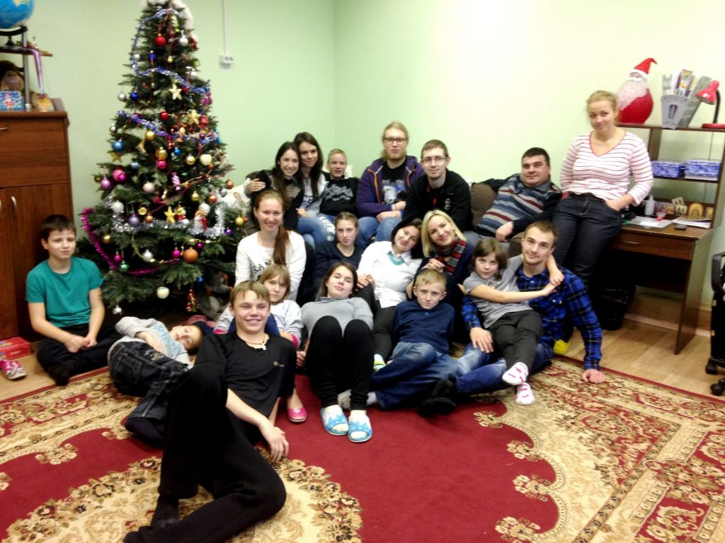 SCHNEIDER GROUP visits orphanage in Russia